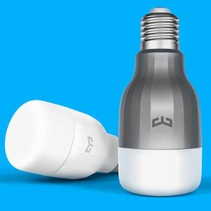 Image 4 - Yeelight 電球 led スマート電球 220 12v E27 9 ワット 600 ルーメンアプリ無線 lan リモートコントロール rgbw ランプ電球カラー版