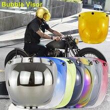 Helmet-Accessories Visor Casco Bubble-Helmet Moto Open-Face Flip-Up for High-Strength