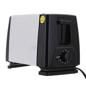 Image 4 - 110V/220V Electric Toaster Household 6 Gears Automatic Bread Baking Maker Breakfast Machine Toast Sandwich Grill Oven 2 Slice