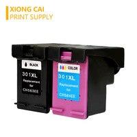 Cartucho para hp 301 xl envy 4500 deskjet  para cartucho de impressora 2630 2540 2510  301xl  1000  1050  301 xl cartucho de tinta