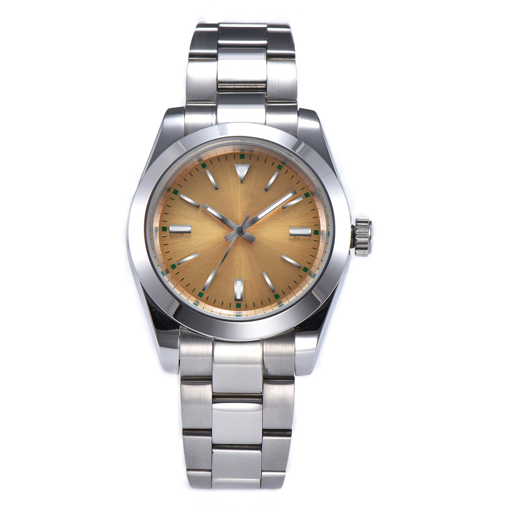 watch men automatic mechanical watch 316L Solid stainless steel Luminous waterproof 40MM LLS90