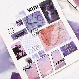 Image 4 - Autocollants séries vie multi saveur, étiquette Scrapbooking décorative, en papier, vie quotidienne, mignon, papeterie de mode, pour fille, 70 pièces