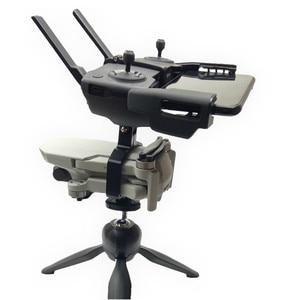 Image 2 - Handheld Gimbal Camera Stabilizer Monitor Controller Tripod Holder Clip Bracket For DJI Mavic Mini Accessories