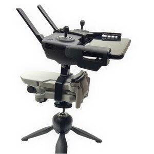 Image 2 - Support de trépied de contrôleur de moniteur de stabilisateur de caméra de cardan tenu dans la main support dagrafe pour les Mini accessoires de DJI Mavic