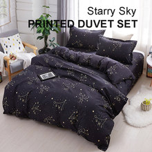 Starry Sky Bedding Set Bed Sheet Bed Linen For Kids Boys Baby Adults Beddings And Bed Sets Duvet Set Winter Home Textile 3/4 pcs(China)