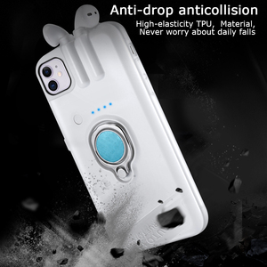 Image 5 - For iPhone 11 Pro Max Xs Max Xr X 8 7 6 6s Plus Case with AirPods 1 2 Charging Box Earphone Holder Dropshipping Fast delivery
