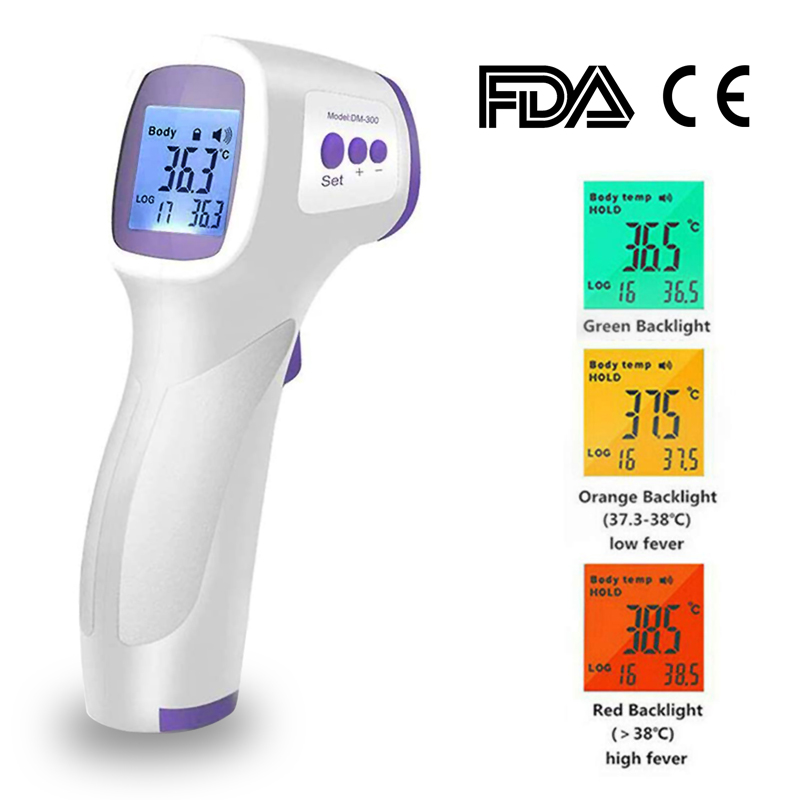 TiooDre Fridge Thermometer Digital Refrigerator Thermometer Hygrometer Digital Waterproof Fridge Freezer Thermometer With Easy to Read LCD Display