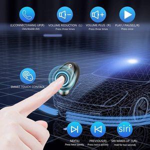 Image 3 - Bluetooth наушники TWS, беспроводные наушники 5,0, водонепроницаемые наушники вкладыши, спортивные наушники 2000 мАч, зарядное устройство, гарнитура, микрофон