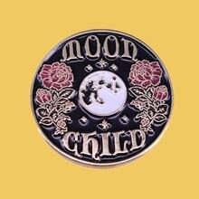 Sp344 жесткие эмалевые заколки с цветами для женщин и мужчин