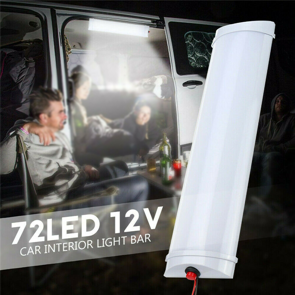 12V 24V Reading Caravan Bright Ceiling Easy Install LED Interior Light Truck Car Motorhome RV Trailer Universal Boat Dome Roof
