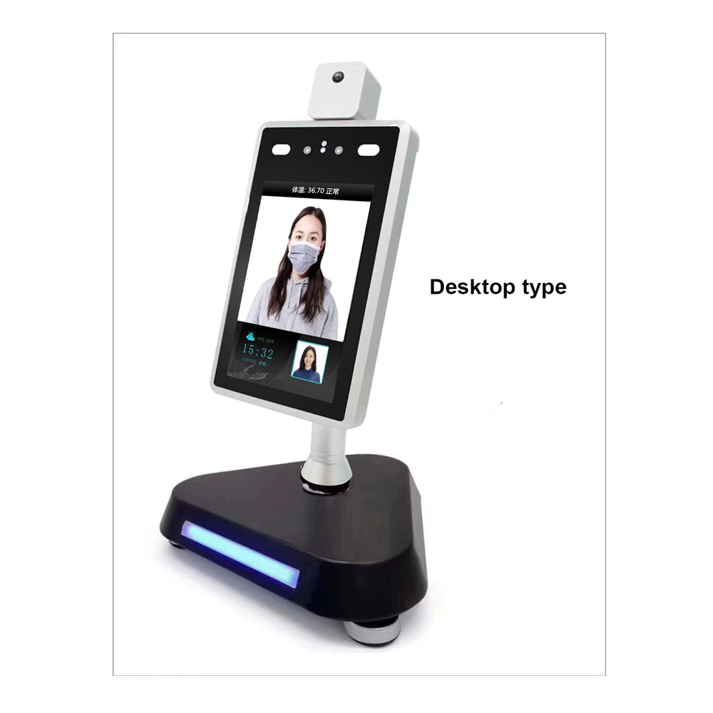 Desktop Type Base Stand For Face Recognition Temperature Measurement Camera Facial Recognition Thermometer Bracket