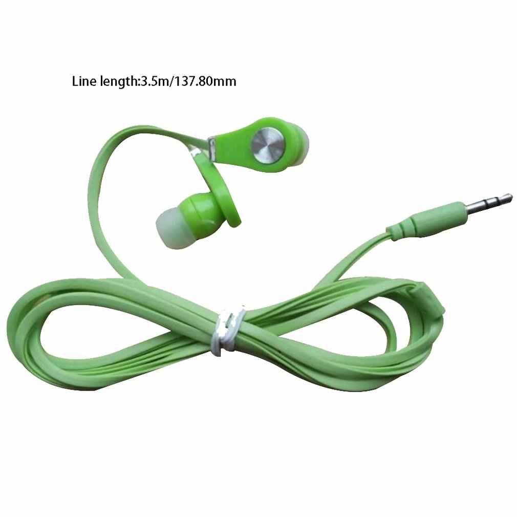 Auricolare in-ear Bass Stereo Hifi Auricolare Ultra Leggero 3.5 millimetri Wired Auricolari Universale per Smartphone Tablet PC