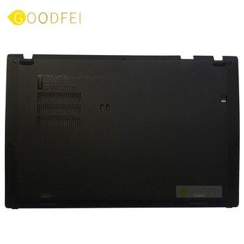 New Original For Lenovo ThinkPad X1 Carbon 6th Gen Type 20KH 20KG 2018 Base D Cover Bottom Lower Case 01YR421 new original for lenovo thinkpad e14 laptop bottom base d cover lower case black housing ap1d3000500 5cb0s95328
