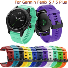 22mm Replacement strap For Garmin Fenix 5 band 5Plus fashion watchband Forerunner 935 smart bracelet