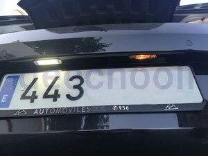 Image 4 - Canbus conduziu a lâmpada da placa de licença do carro + interior cúpula mapa luzes kit lâmpada para volkwagen para vw golf 4 5 6 7 mk4 mk5 mk6 mk7 1998 2018