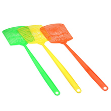 3pcs Hunting Outdoor Handheld Breathable Non Flies Garden Home Office Anti Mosquito Indoor Pest Control Random Color Fly Swatter