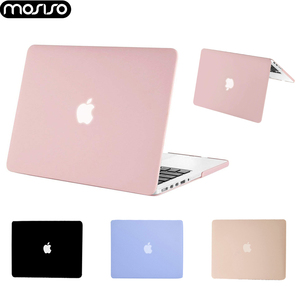 MOSISO 2019 Laptop Case for Macbook Air 11 13 13.3 inch A1932 Protective Pink Cover Cases for Macbook Pro 13 15 Touch Bar A2159