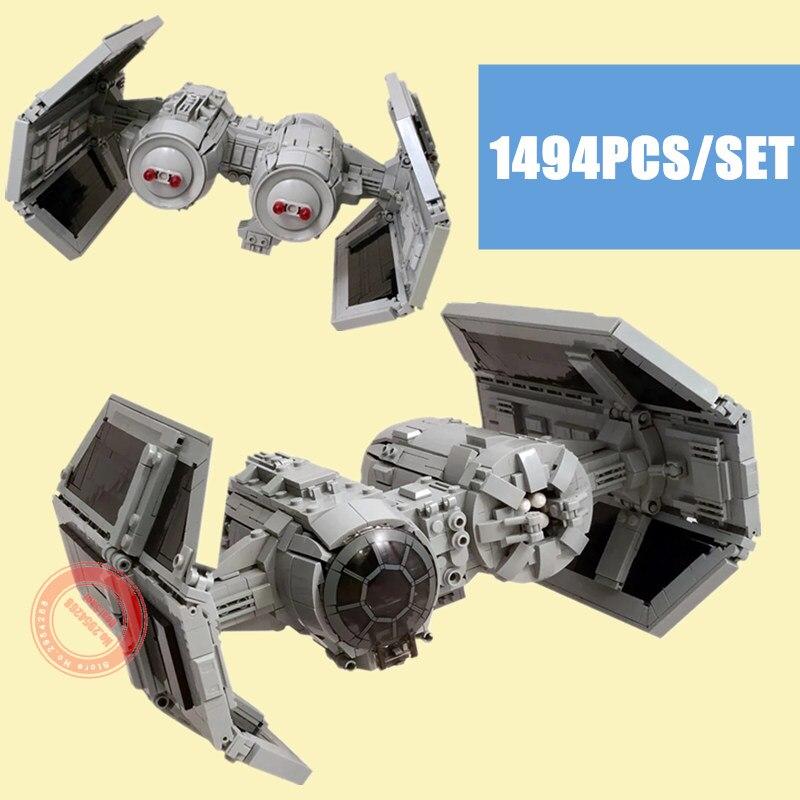 Nouvelle série de cravate étoile MOC-13952 Fit Star Wars blocs de construction figurines briques de bombardier enfants combattant jouets cadeaux pour enfants