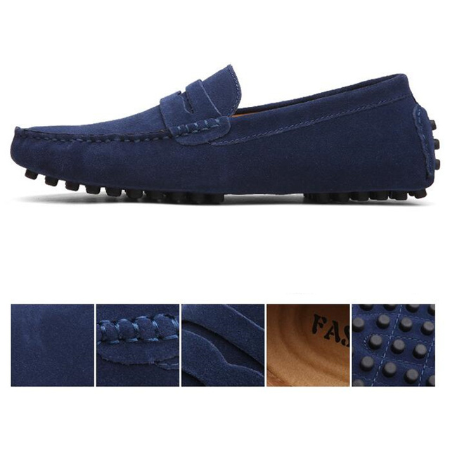 Soft Moccasins Men Loafers 6