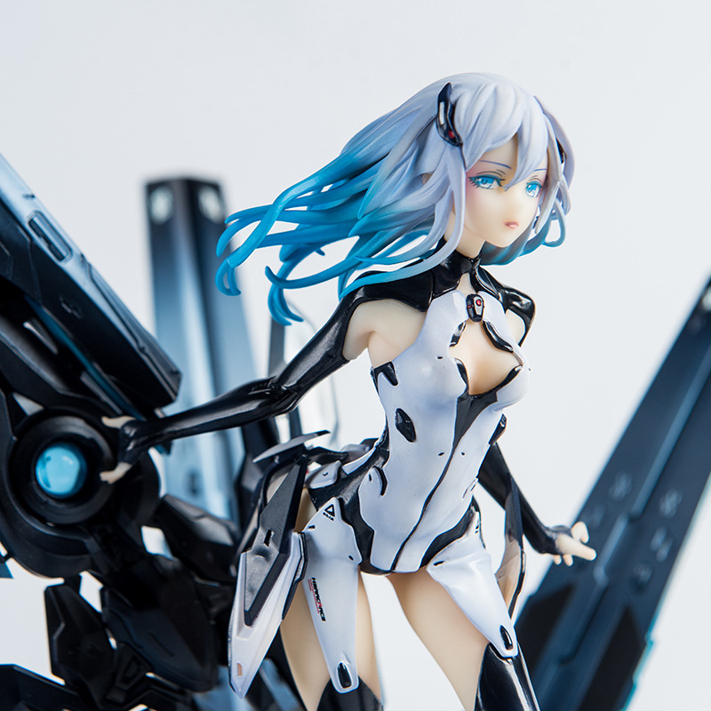 27cm BEATLESS Lacia 2018 BLACK MONOLITH 1/8 Scale Painted Sexy Girls PVC Action Figure Collection Model Toys Doll Dropshipping