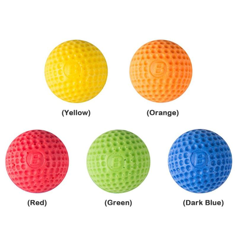 100pcs Foam Ball Bullets For For Rival Nerf Toy Gun Outdoor Practice Round Bullets For Children Toy Gun Accessories