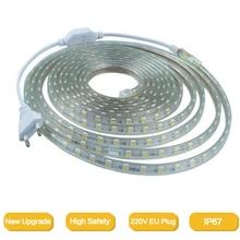 2835Flexible LED Strip light AC220V 120leds/m Waterproof IP6