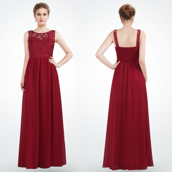 New Elegant Woman Evening Gown Temperament Lace Toast Dress Suitable for Formal Parties