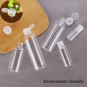 Transparent Refillable Bottles Washable Divided Bottle Flip Cap Separate Bottling(5,10,20,30,50,60,80,100,120,150,200ml optional
