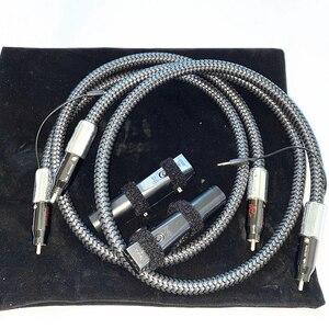 De Audio de alta fidelidad, cables bien firma RCA Cable de interconexión con carbono nuevo 72V DBS