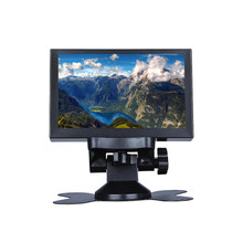 S501H Mini 5inch Monitor 5CH VGA BNC AV HD Ypbpr LCD Display Screen 800 * 480 Cross Line for DVR DVD PC CCD CCTV Camera(China)