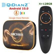 128GB HK1 RBOX R1 TV, pudełko z systemem Android 10.0 Rockchip RK3318 1080p 4K Google zestaw do gry Top Box HK1 R1 TV, pudełko PK T95 H96 X96 Andriod 9.0