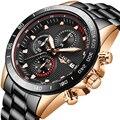 Uhren LIGE Herren Uhren Top Luxus Military Sport Uhr Männer Quarz Wasserdichte Uhr Relogio Masculino Relogio Masculino