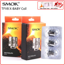 Original SMOK TFV8 X-Baby RBA Coil Head Resistance Heater for Electronic Cigarette Core for V8 X Baby XBaby Atomizer Vaporizer(China)