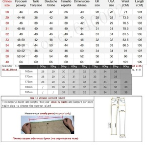 Image 2 - 2020 Spring Non Iron Dress Men Classic Pants Fashion Business Chino Pant Male Stretch Slim Fit Elastic Long Casual Black Trouser