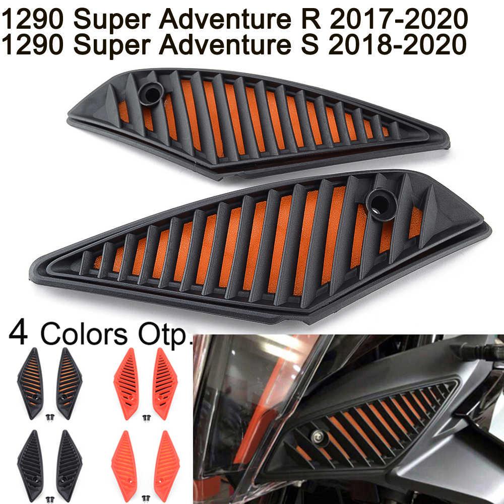 Moligh doll Protezione Filtro Antipolvere Filtro Aria Moto per 1290 Super Adventure R//S 1290 ADV KTM1290 2017-2019 Arancione