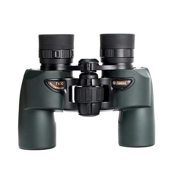 Compact Binoculars 7x30 HD Waterproof lll Night Vision Wide Angle Binocular Outdoor Camping Hunting Bird-watching Telescope