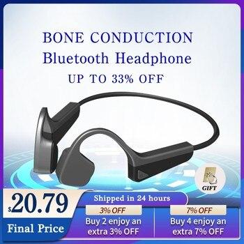 Bone Conduction Headphones Bluetooth Wireless Sports Earphone IPX6 Waterproof Headset Outdoor Stereo With Microphone 1