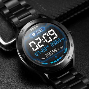 Image 5 - DTNO.I No.1 DT98 Smart Watch IP68 Waterproof 1.3 Full Round HD Screen ECG Detection Multi Dials Smartwatch Fitness Tracker Men