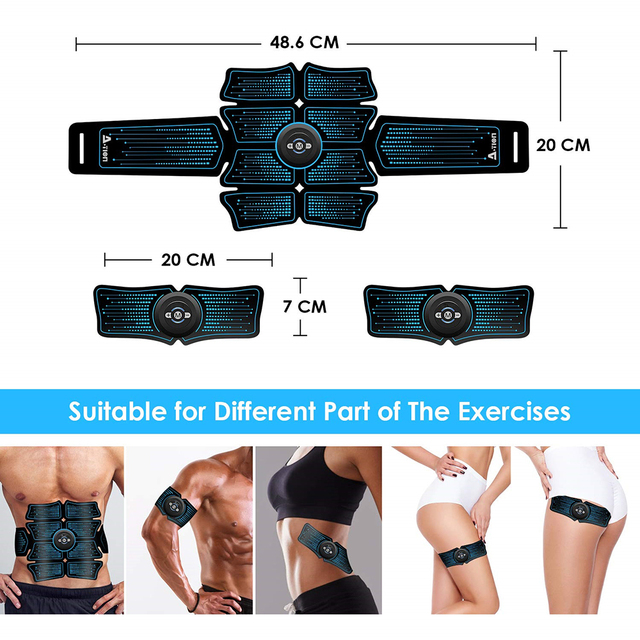 Abdominal Muscle Stimulator Home Trainer 1
