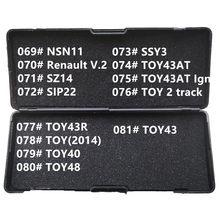 Слесарные Инструменты для всех типов, 69-81 LiShi 2 в 1 NSN11 SZ14 SIP22 SSY3 TOY43AT TOY2Track TOY43R TOY40 TOY48 TOY43