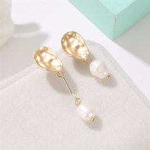 CHENFAN Trendy Korean earrings 2019 for women pearl jewelry drop