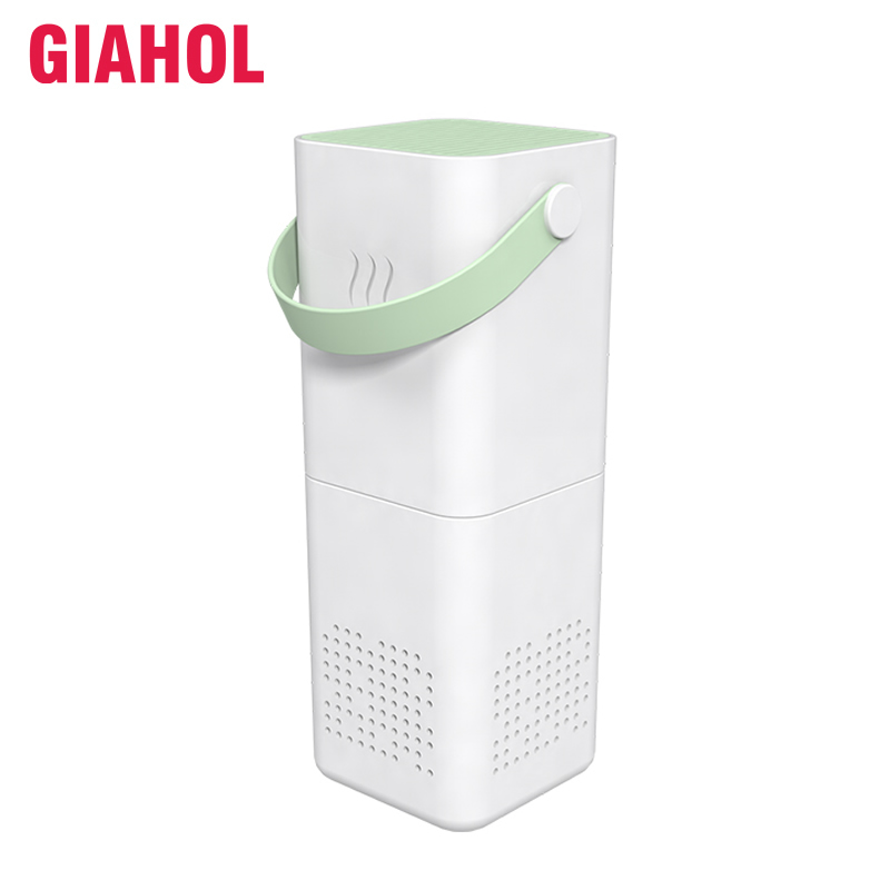 Giahol Portable Car Air Purifier USB Power Anion Car Air Cleaner Hepa Filter Mini Air Freshener for Home