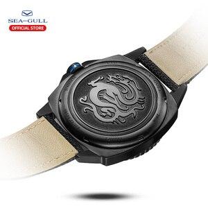Image 4 - Mewa wodoodporny zegarek męski wielofunkcyjny luminous czas wolny sport nowy automatyczny zegarek mechaniczny 6057H seria morskich