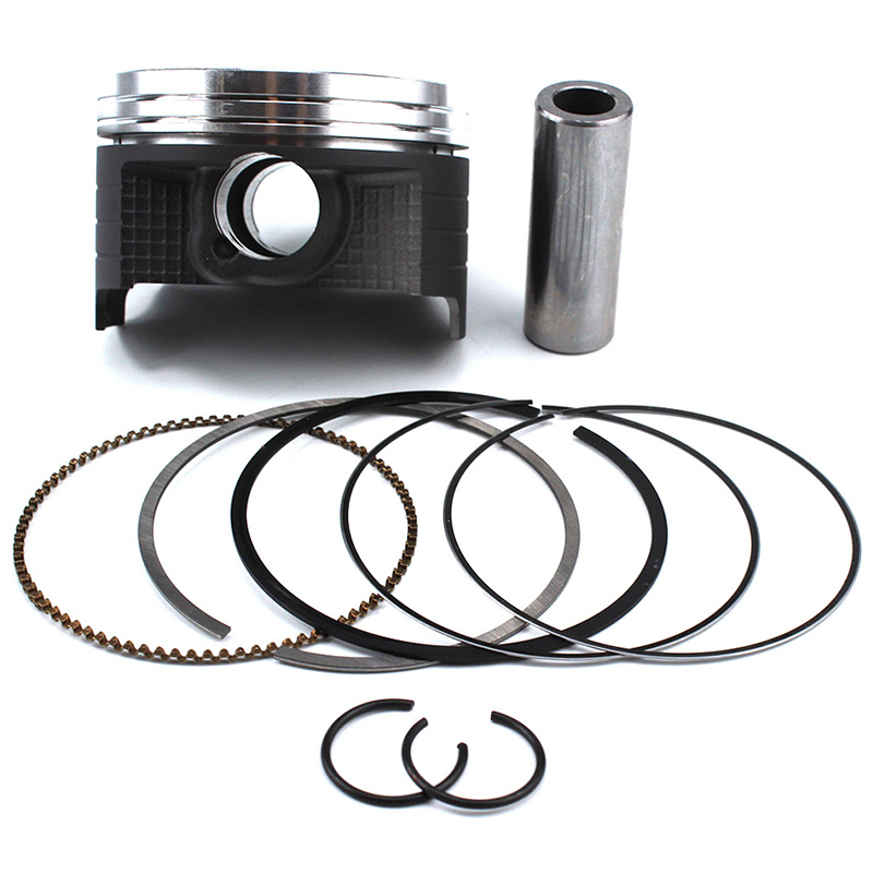Motorcycle Engine <font><b>Piston</b></font> <font><b>Rings</b></font> set Kit For Suzuki AN250 Burgman AN 250 Skywave DR250 DR 250 STD Bore Size 73mm-<font><b>74mm</b></font> Pin 19mm image