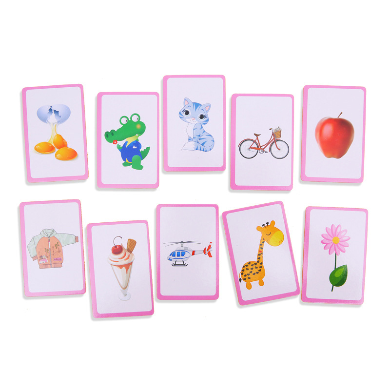 2020 New Baby Kids Card Game Toy Numbers English Letters Recognition Intelligent Training Educational
