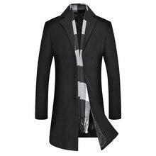 Winter Mens Woolen Overcoat, Overcoat Coats and Jackets  Wool Coat Men Cashmere