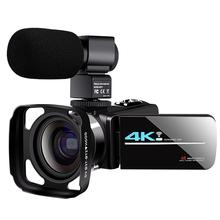 KOMERY 48MP Video WiFi Camera Camcorder Live Streaming For Youbute 3.0 Inch Touc