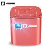 AODIN Fusion 50Ansi Lumens WIFI portable mini projector DLP LED TV projector, Support 1080P, Stream 50000+ TV/Movies