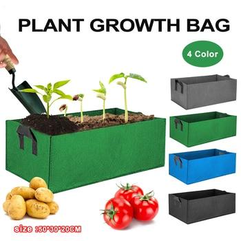 Bolsa de cultivo de patatas, bolsa para vegetales, Patio, bolsa de tomate, plantador, semilla duradera