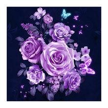 Алмазная вышивка цветы алмазная живопись наборы для вышивки